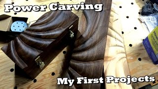 Power Carving HowTo  My First Adventure In Power Carving