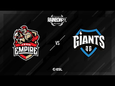 Team Empire vs. Giants Gaming - Clubhouse - Rainbow Six Pro League - Season X - EU