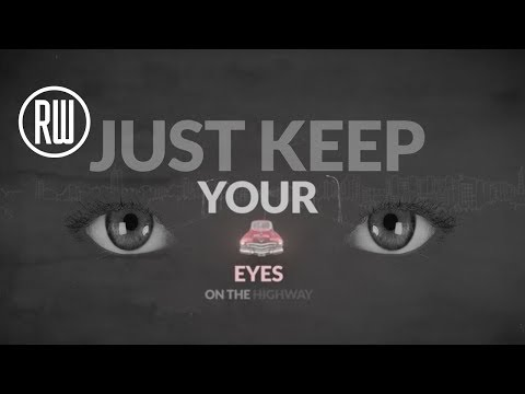 Robbie Williams | Eyes On The Highway - Lyric Video