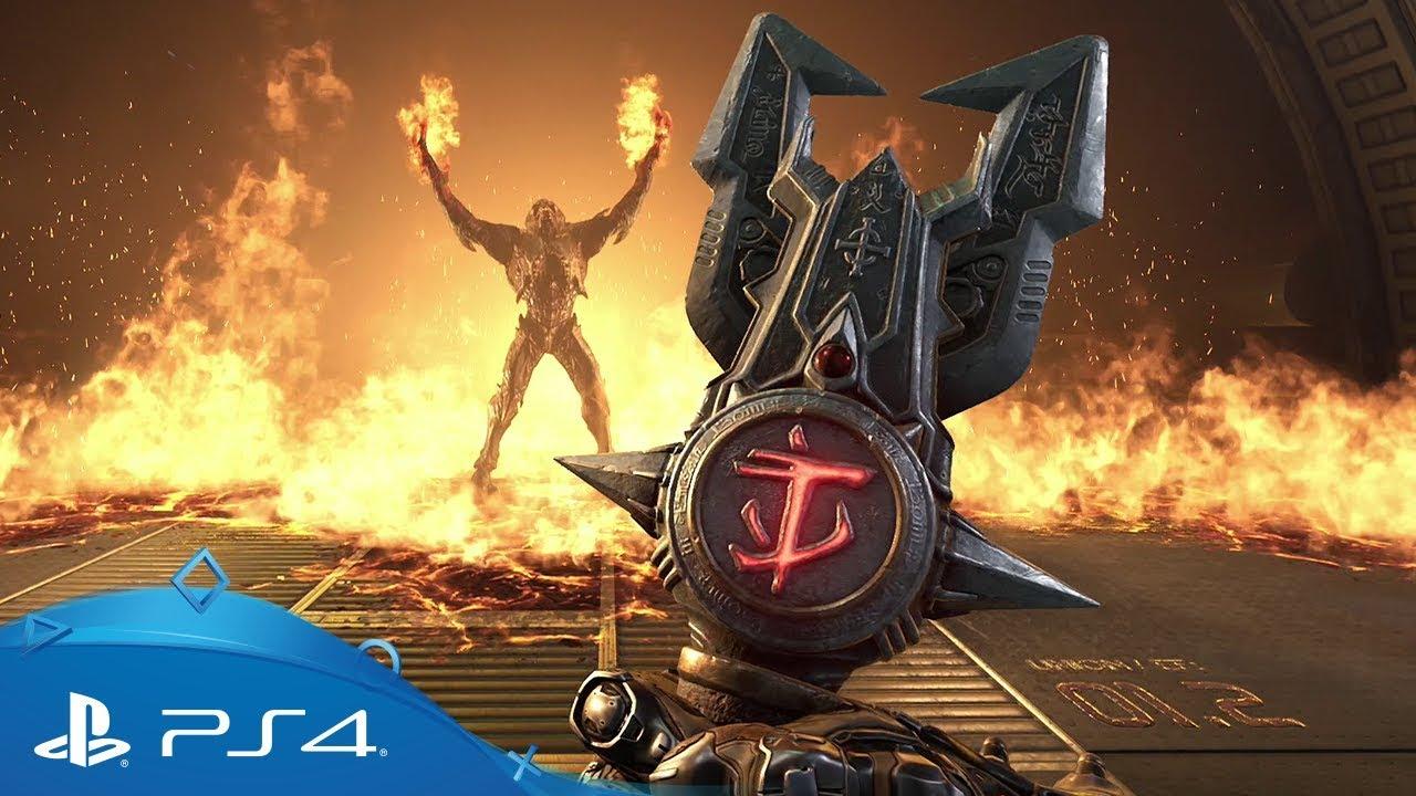Диск Doom Eternal (Blu-ray, Russian version) для PS4 video preview