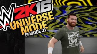 WWE 2K16 Universe Mode: Episode 21 - Monday Night Raw (Xbox One/PS4 Gameplay)