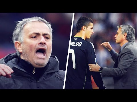 """The day Mourinho called the Real Madrid players """"sons of bi*****""""   Oh My Goal"""