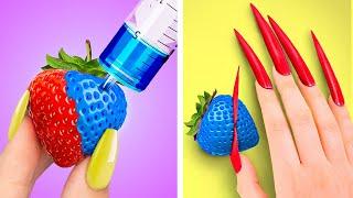 Strawberry Challenge! Strawberry Pop It!