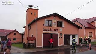 Požar v gasilskem domu Zgornje Krapje