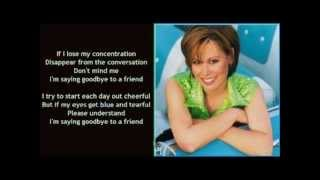Suzy Bogguss - Saying Goodbye To A Friend ( + lyrics 1996)