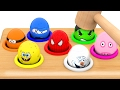 Download Video Character Surprise Eggs, Learn Colors With Whac A Mole For Kids Children Toddlers