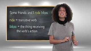 Everyday Grammar: Transitive Verbs