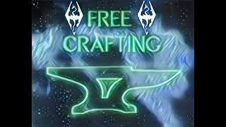 The Elder Scrolls V: Skyrim | Mods | Free Crafting (no perks/materials)