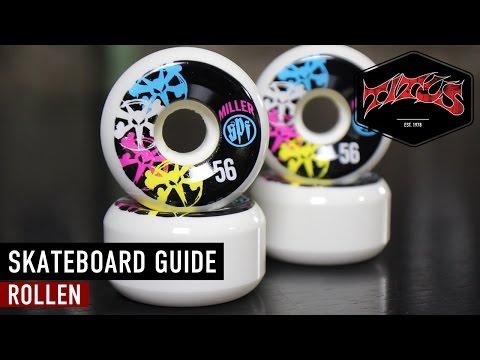 Skateboard   Setup   Rollen