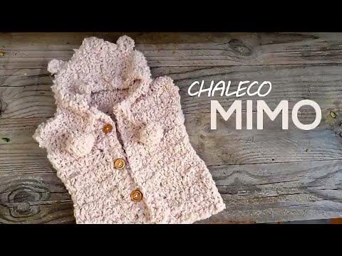 Chaleco Mimo a crochet