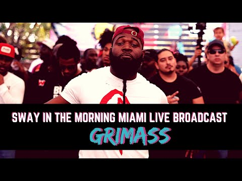 Grimass Performs at The Sway In The Morning Live Broadcast From Miami