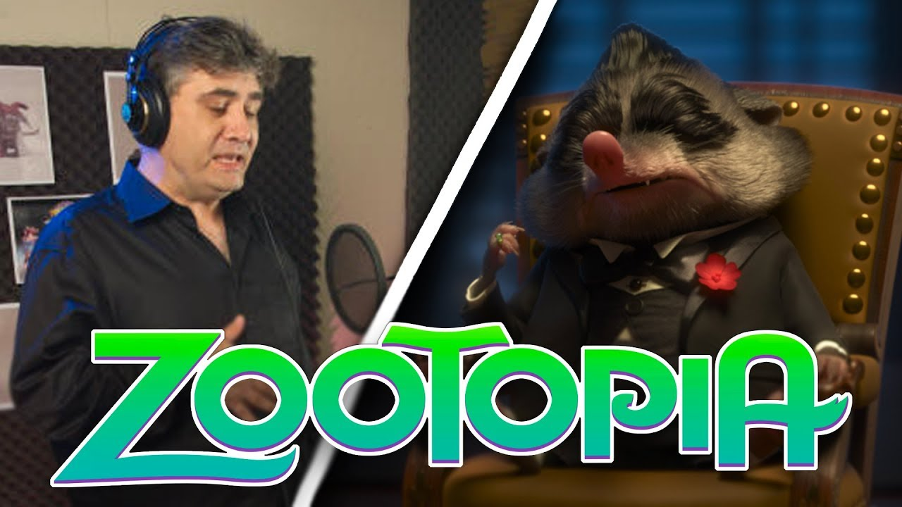 Zootopia: Voice Acting as Mr. Big  (by Speech Bubble w/Butch Hartman)