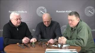 О финском ноже, финке НКВД, ноже НР-40 - разговор с Долычами