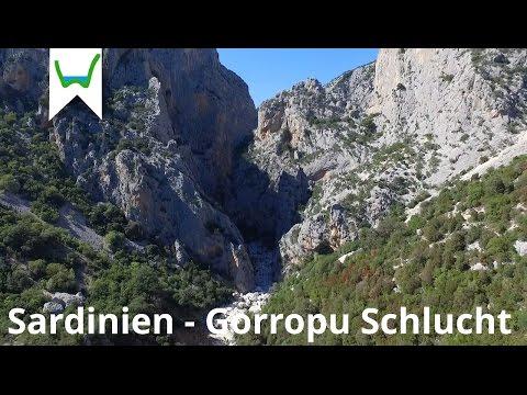 Die Gorropu Schlucht an der Ostküst von Sardinien