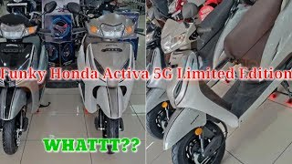 2019 Funky Honda Activa 5G Limited Edition Is Here!🔥