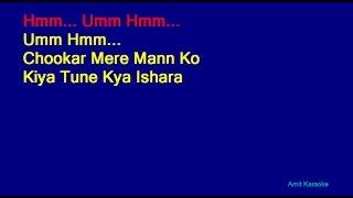 Chookar Mere Mann Ko - Kishore Kumar Hindi Full Karaoke
