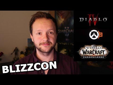 DIABLO 4, Overwatch 2, WoW: Shadowlands - Blizzcon 2019