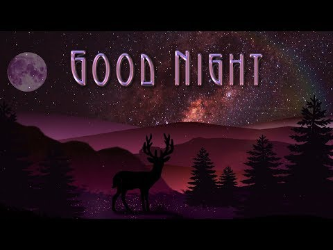 🎶💗Most Beautiful Video of Good Night🎶💗Most beautiful animation wish of a good night