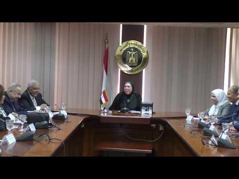 لقاء وزيرة التجارة والصناعة بأعضاء نقابة المستثمرين الصناعيين