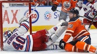 Oilers Beat Rangers In Overtime
