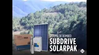 Aplicaciones del SubDrive SolarPAK