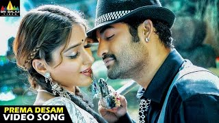 Shakti Songs  Prema Desam Video Song  Jr NTR Ileana  Sri Balaji Video