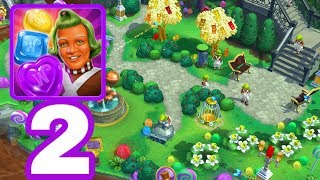 WILLY WONKA SWEET ADVENTURE - Gameplay Walkthrough Part 2 iOS / Android - Zone 2 Gummy Garden