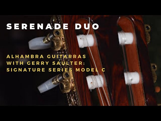 Alhambra Model C Signature Guitar
