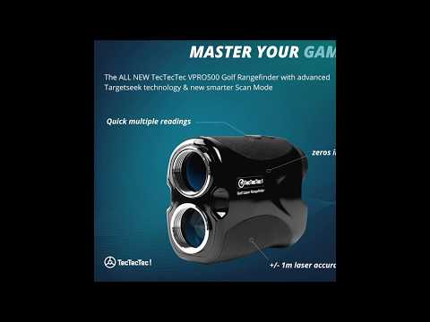 Golf Rangefinder Tutorial TeTecTec VPRO500 Laser Range Finder with Pinsensor
