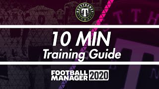Brief Training Guide for Football Manager 2020