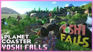 YOSHI FALLS!! Ride Spotlight 33 #PlanetCoaster