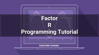 R Programming Tutorial - 09: Factor in R Programming #RPROGRAMMING