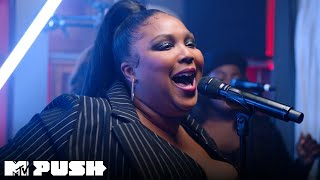 Lizzo Performs 'Juice', 'Cuz I Love You' & 'Good As Hell' (Live Performance) | MTV Push