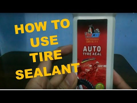Hachi Tire Sealant Review | Tire with interior tube