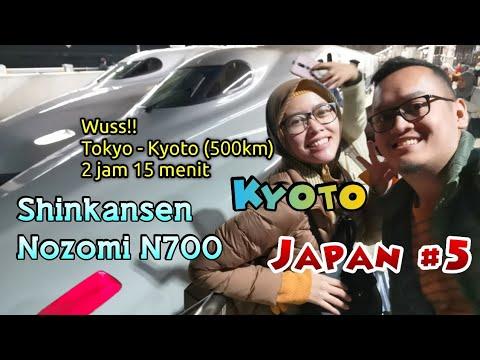 Japan #5 - Shinkansen tercepat Nozomi N700 (Tokyo-Kyoto), Kyoto Crystal Hotel III, Lawson 100 Kyoto