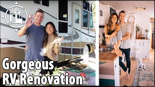 Renovated RV is their Beautiful Tiny Home + Cystic Fibrosis