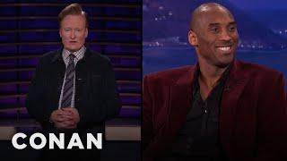 Conan Remembers Kobe Bryant - CONAN on TBS