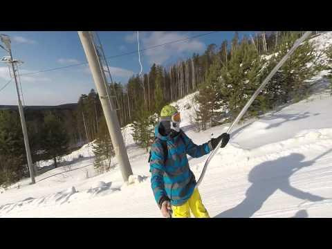 Видео: Видео горнолыжного курорта Теплая в Свердловская область