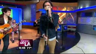 "All-American Rejects perform ""Walk Over Me"" on Good Day LA"