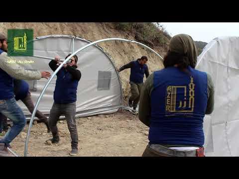 تجهيز 30 خيمة لاهلنا النازحين من ريف ادلب لعام 1439 هجري