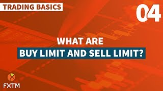 What are Buy and Sell Limits?