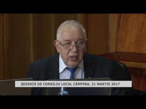 Ședința Consiliului Local Câmpina din 31 martie 2017