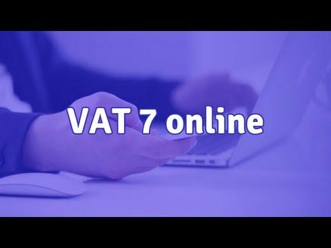 VAT 7 online - jak wypełnić deklarację VAT przez internet?