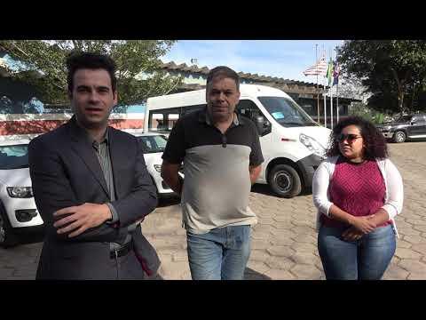 Prefeito Ayres Scorsatto entrega a chave dos Veículos para o Postinho do Barnabés e Centro de Juquitiba