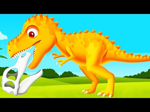 Fun Jurassic Dig Kids Games - Children Learn About Dinosaurs - Educational Videos Games for Children