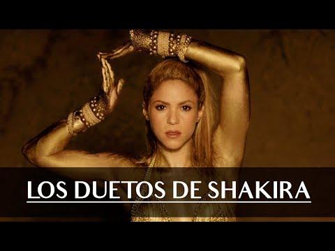 Shakira video Los duetos de Shakira - Enero 2019