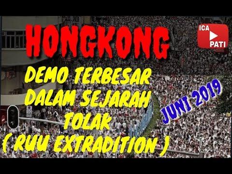 DEMO terbaru 2019 - HONGKONG berdemo - TOLAK RUU EXTRADITION