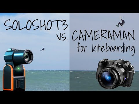 Soloshot3 vs Cameraman for Kiteboarding Review