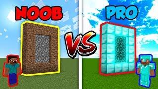 Minecraft NOOB vs. PRO: DIMENSIONS in Minecraft!