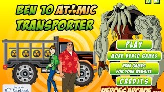 Ben 10 Atomic Transporter Games - Ben 10 Car Games Online Free Play